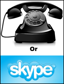 Phone or Skype consult