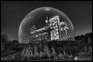 Montreal Biosphere - Around Midnight